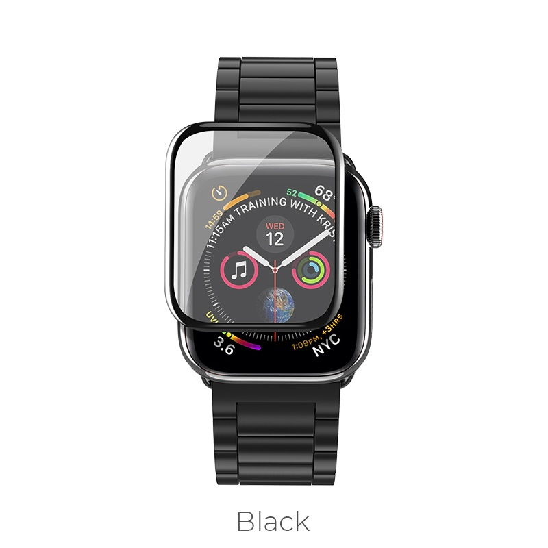 apple watch series 4 curved glass black
