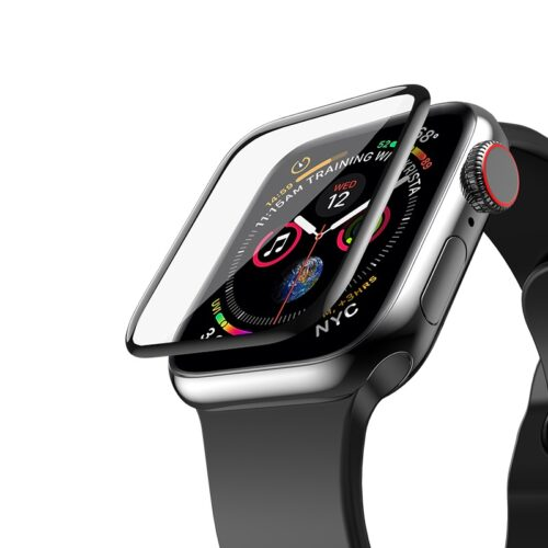 hoco curved hd silk screen tempered glass for apple watch series 4 edges
