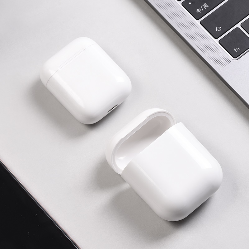 hoco cw18 wireless charging protective box for airpods case