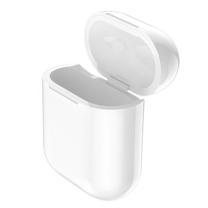 hoco cw18 wireless charging protective box for airpods inside