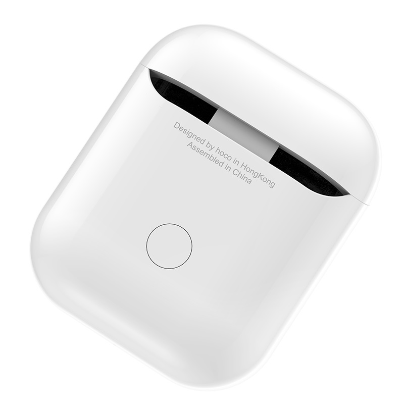 hoco cw18 wireless charging protective box for airpods shell