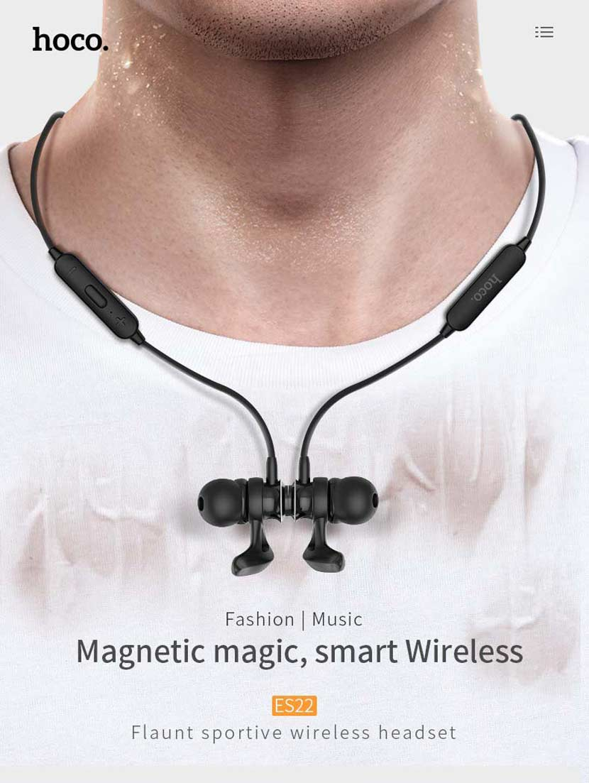hoco es22 headset magnetic news en