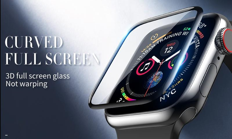 hoco iwatch 4 protective glass banner en