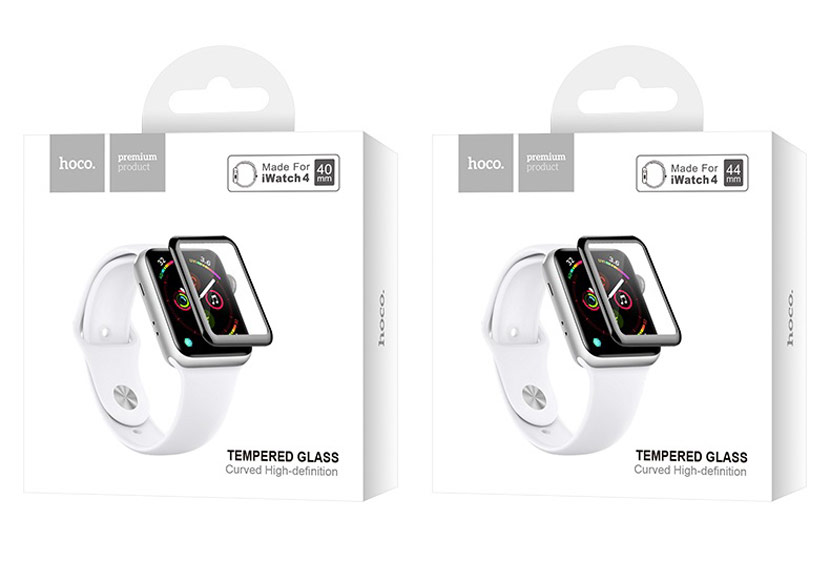 hoco iwatch 4 protective glass package en