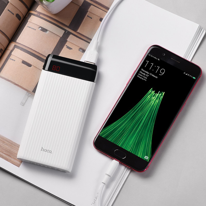hoco j28 mobile power bank 10000 mah charger