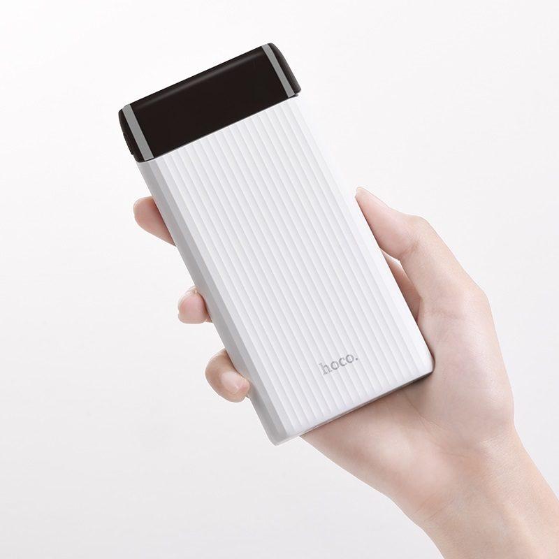 hoco j28 портативный аккумулятор 10000 mah портативный