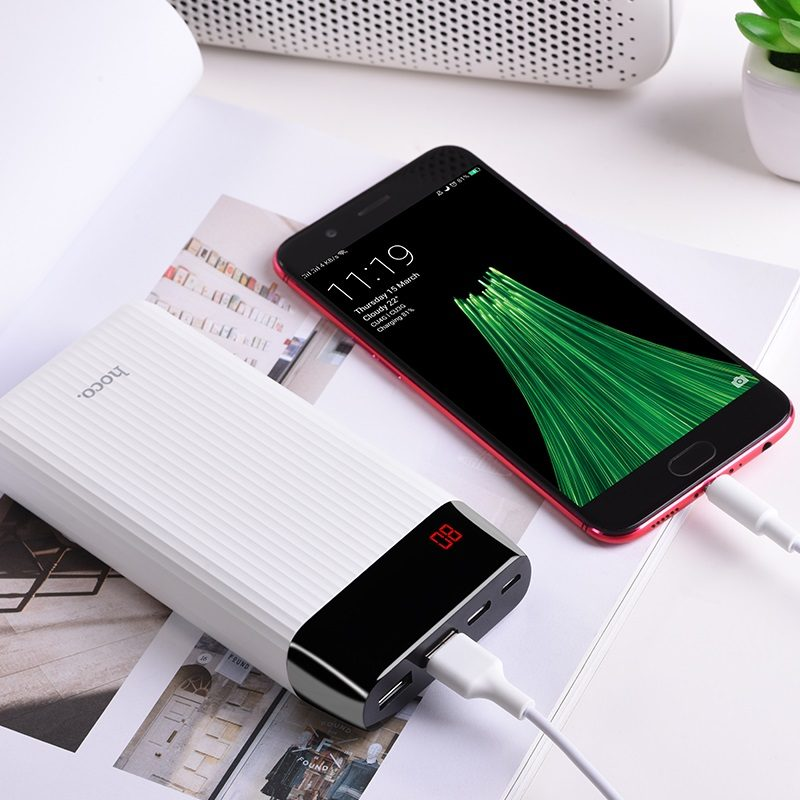 hoco j28a shock power mobile power bank 20000mAh charger