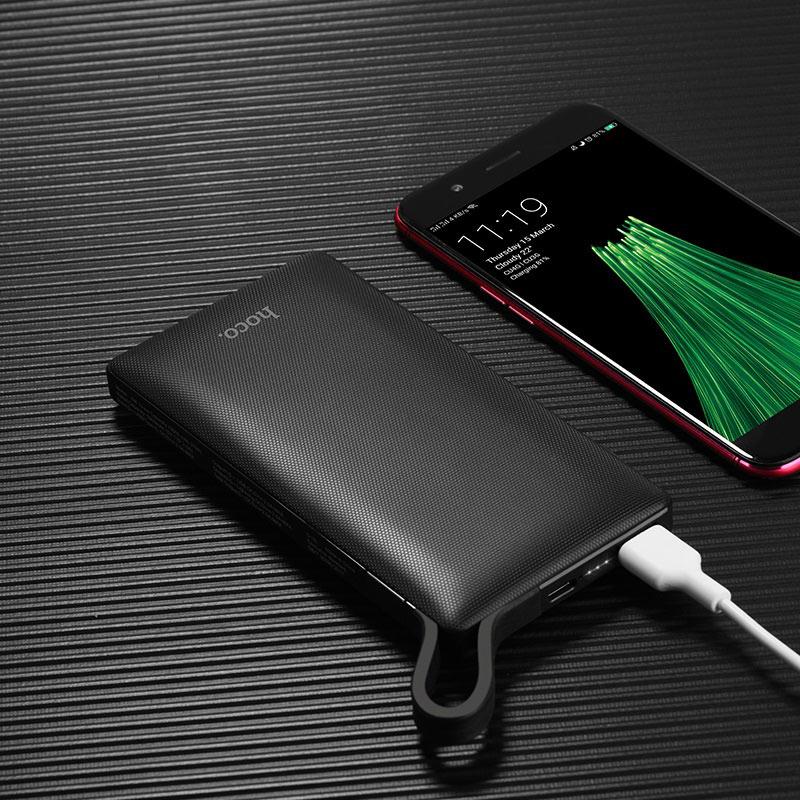 hoco j36 ample energy mobile power bank 10000 mah charging