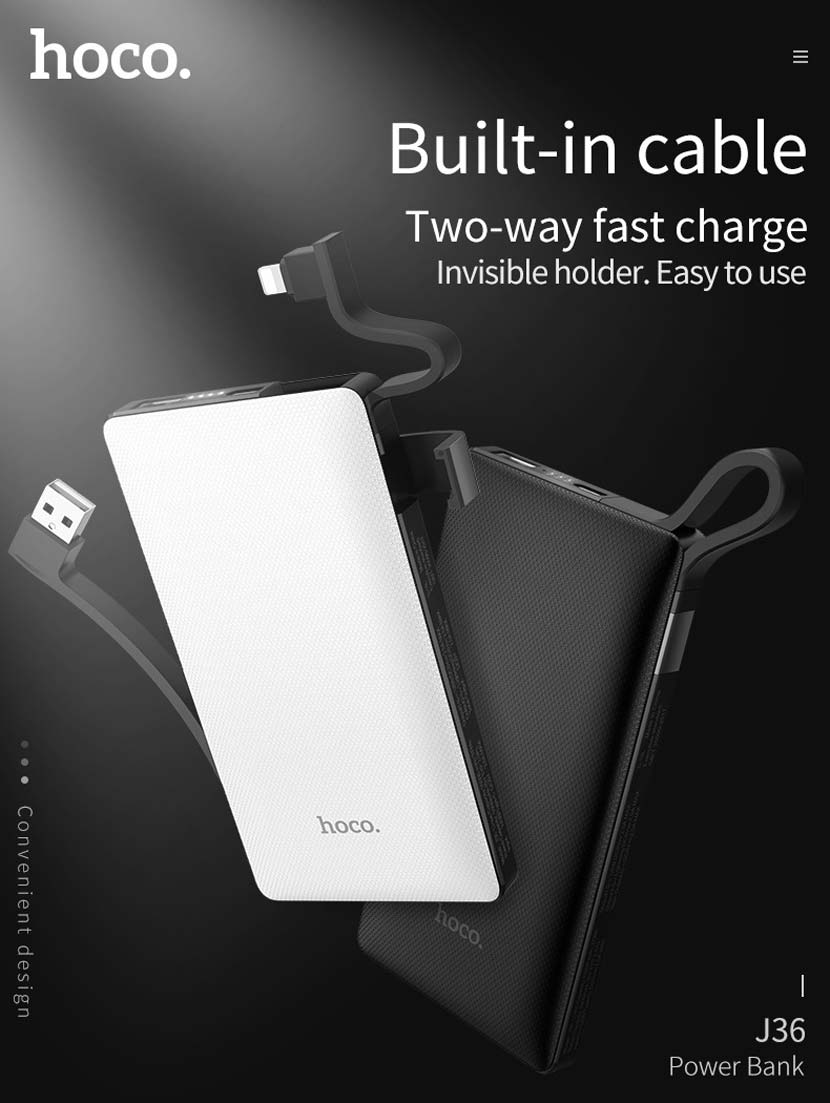 hoco j36 ample energy mobile power bank 10000mah main en