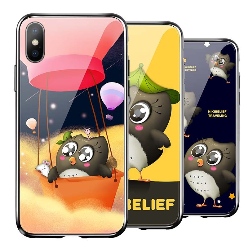 hoco kikibelief cool buddy защитный чехол для iphone x xs max