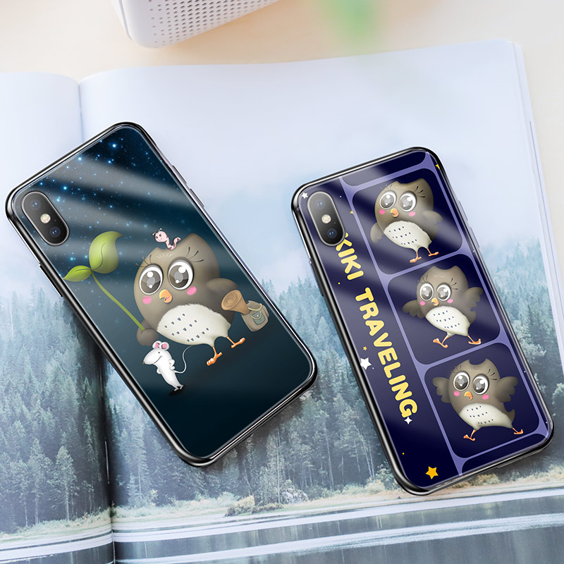 hoco kikibelief cool buddy series protective case for iphone x xs max black background