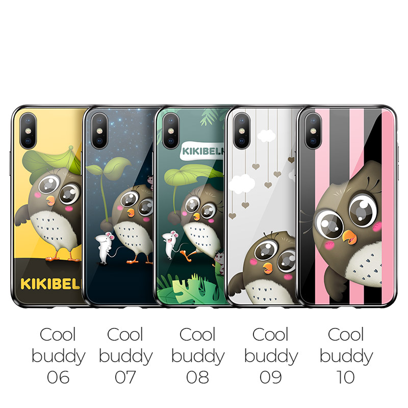 hoco kikibelief cool buddy series protective case for iphone x xs max overview