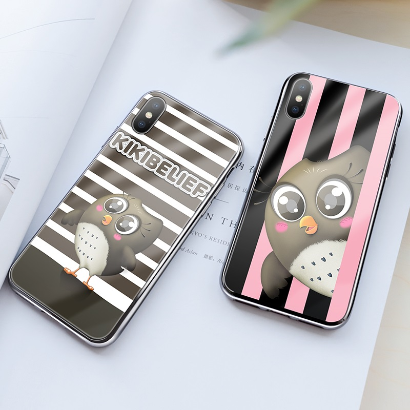 hoco kikibelief cool buddy series protective case for iphone x xs max pink black