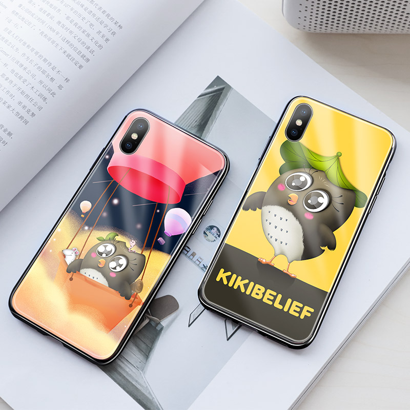hoco kikibelief cool buddy series protective case for iphone x xs max yellow night
