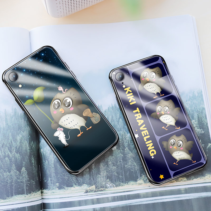 hoco kikibelief cool buddy series protective case for iphone xr interior