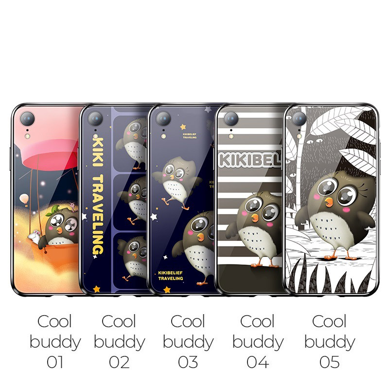 hoco kikibelief cool buddy series protective case for iphone xr overview 1