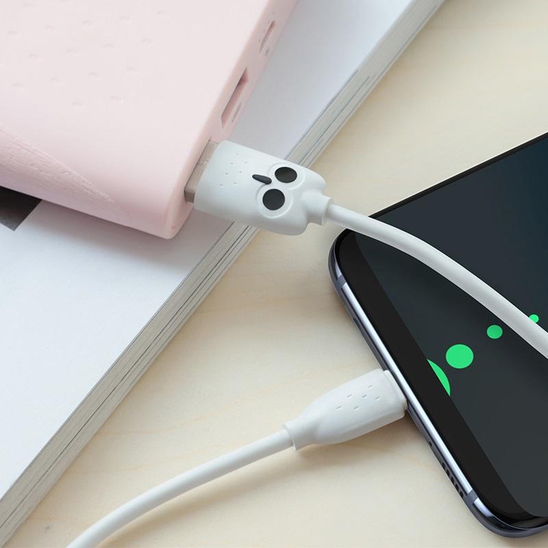 hoco kikibelief kx1 type c charging data cable cute