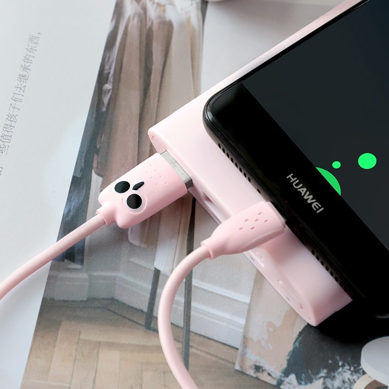 hoco kikibelief kx1 type c зарядный дата кабель телефон