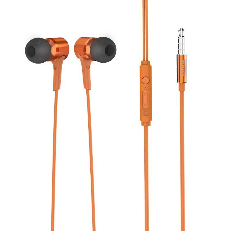 hoco m54 pure music проводные наушники с микрофоном 3.5мм