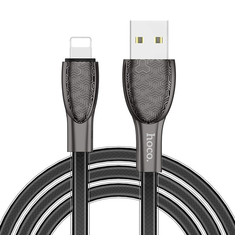 hoco u52 bright charging data cable for lightning overview
