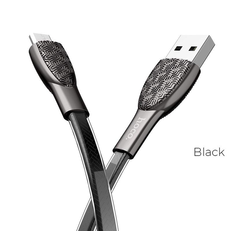 u52 micro usb черный