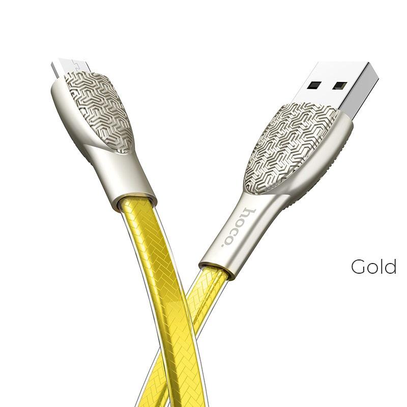 u52 micro usb gold