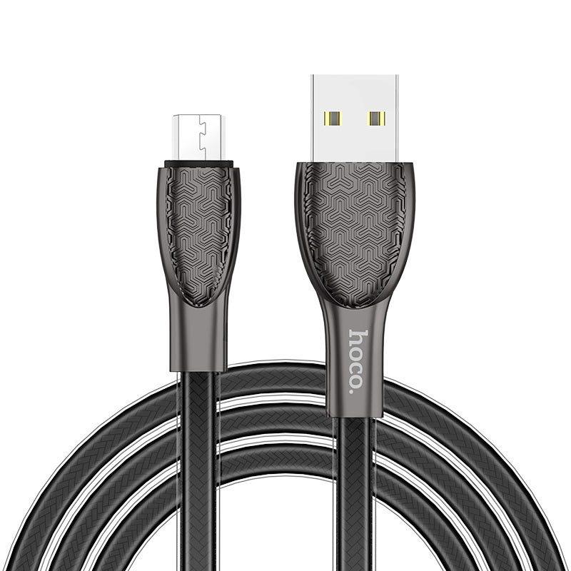 hoco u52 bright зарядный дата кабель для micro usb обзор