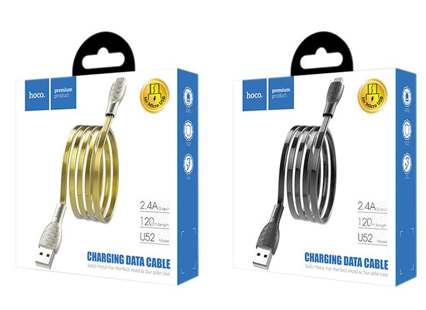 hoco u52 bright charging data cable package en