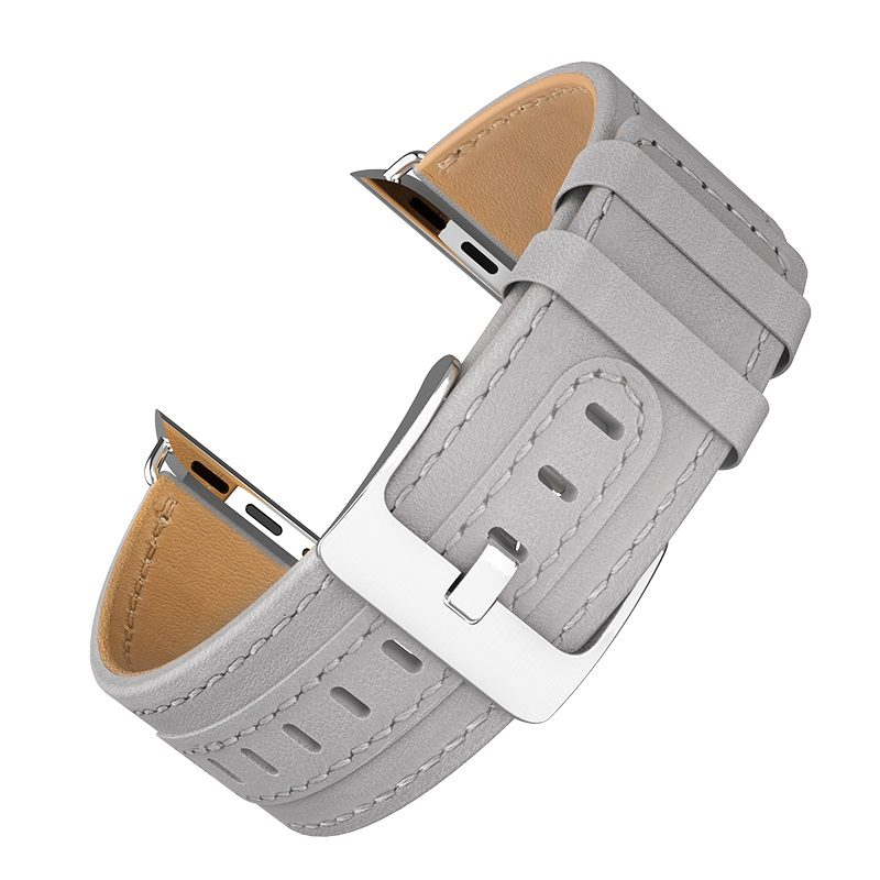 hoco wb04 duke series leather strap for apple watch series 1 2 3 4 overview