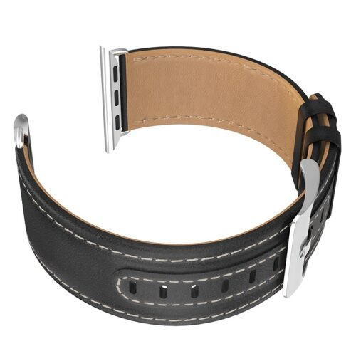 hoco wb04 duke series leather strap for apple watch series 1 2 3 4 stitch