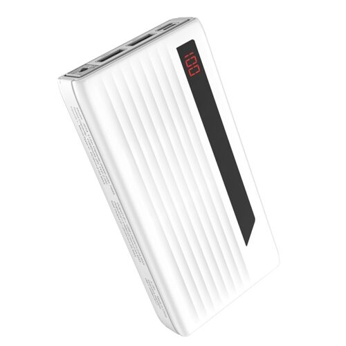 hoco j27a wide energy портативный аккумулятор 20000 mah экран