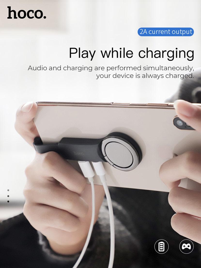 hoco ls22 ls23 audio converter adapter en