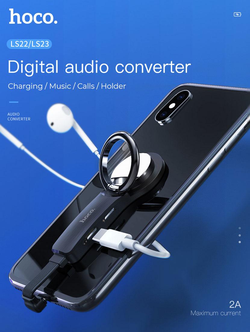 hoco ls22 ls23 audio converter main en