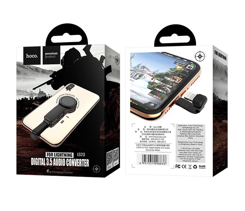 hoco ls23 audio converter packages