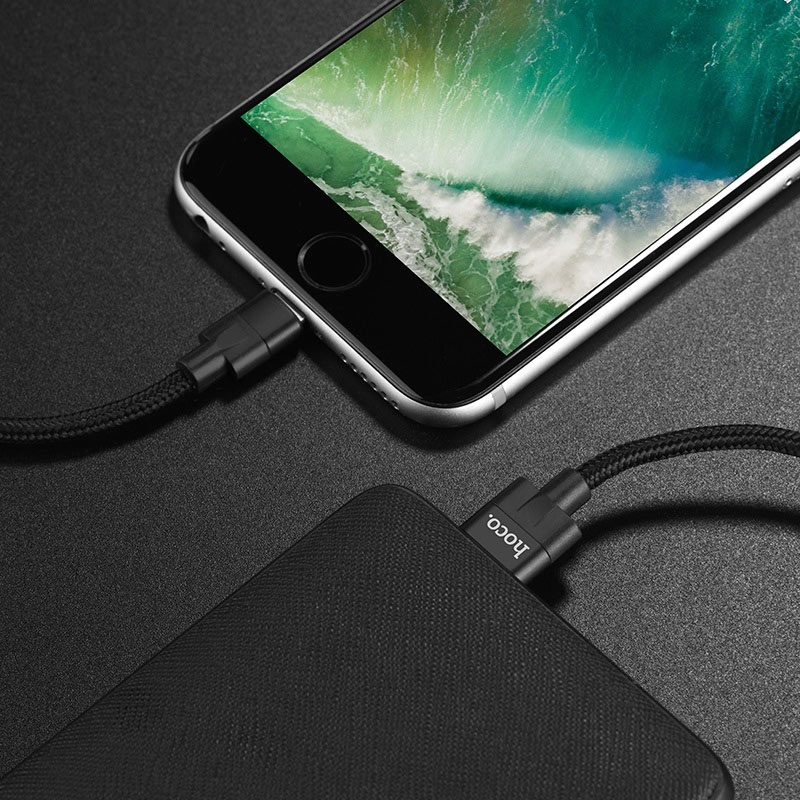 hoco u55 outstanding charging data cable for lightning overview