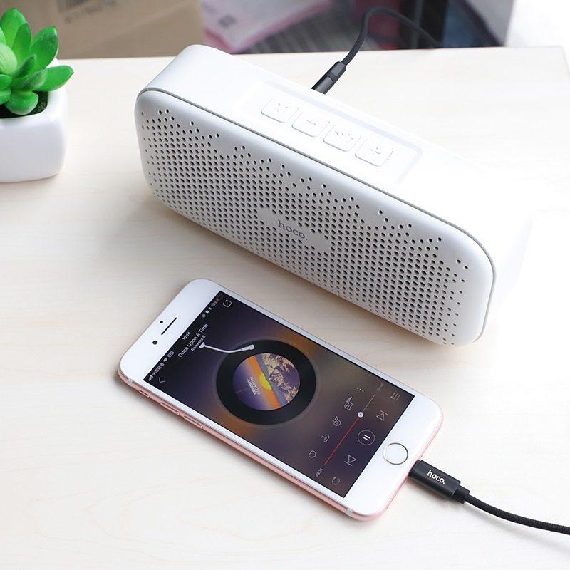 hoco upa13 sound source цифровой аудио кабель для apple телефон