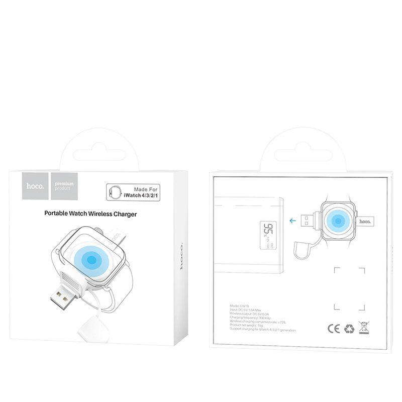 浩酷 cw19 轻捷iwatch手表无线充电器 包装