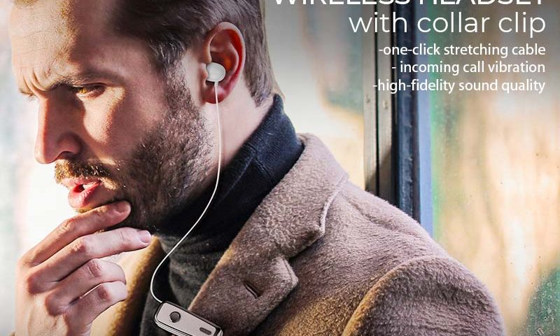hoco e38 business wireless headset banner en