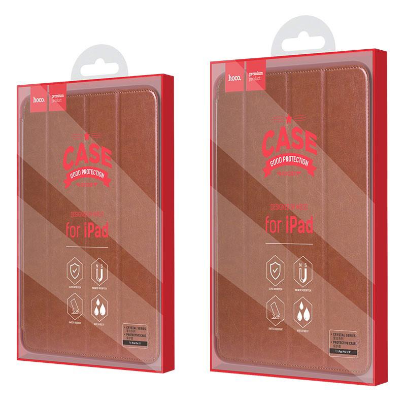 hoco ipad pro 11 12.9 inch retro leather case box