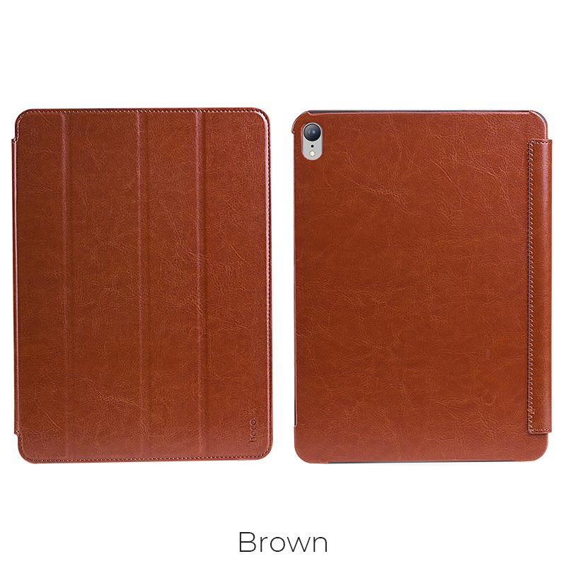 ipad pro retro leather case brown