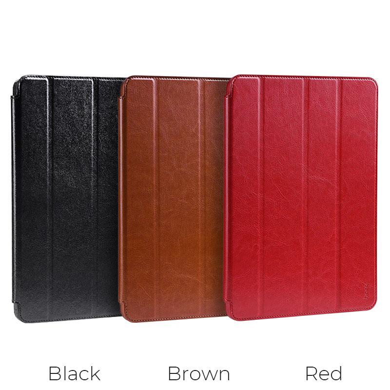 hoco ipad pro 11 12.9 inch retro leather case colors