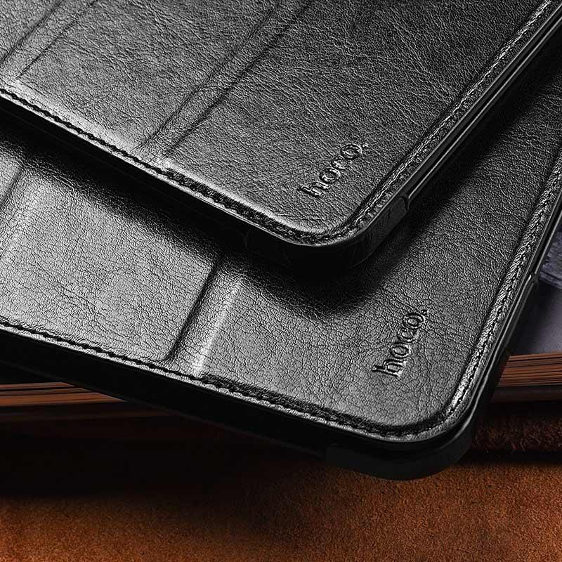 hoco ipad pro 11 12.9 inch retro leather case cover