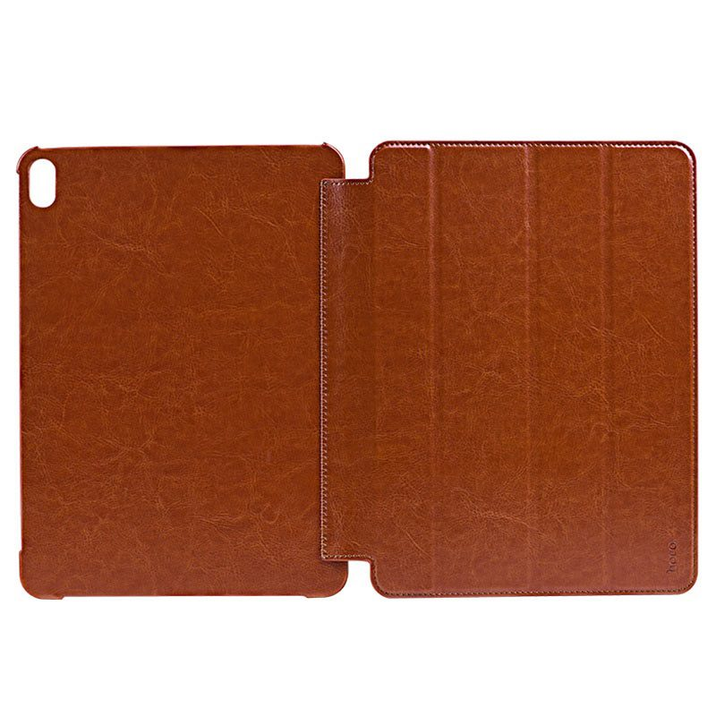 hoco ipad pro 11 12.9 inch retro leather case holes
