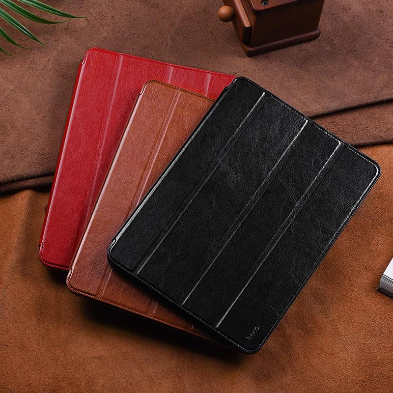 hoco ipad pro 11 12.9 inch retro leather case overview
