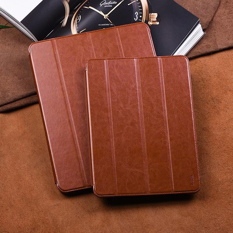 hoco ipad pro 11 12.9 inch retro leather case protection
