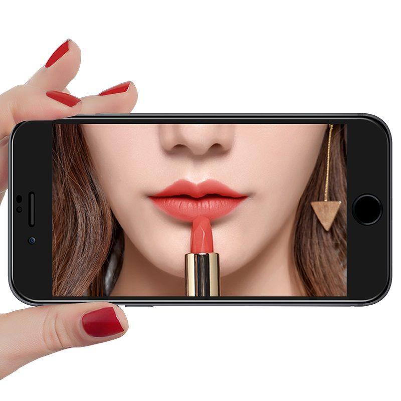 hoco mirror a15 полноэкранное закаленное стекло для iphone 7 8 plus отражение
