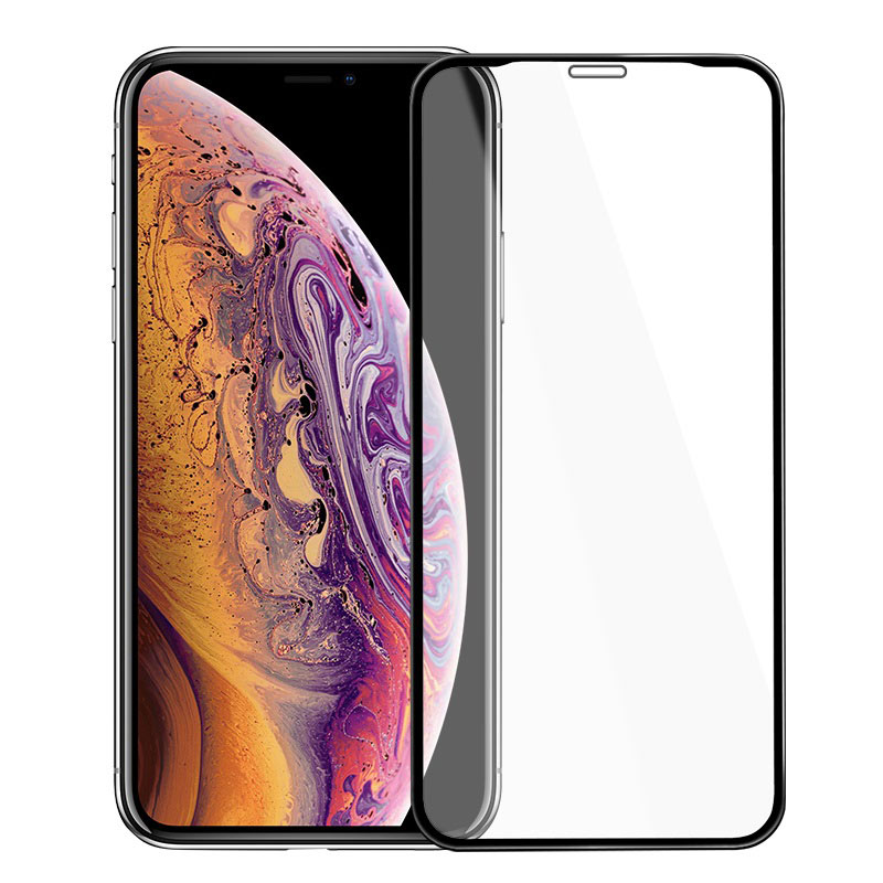 hoco mirror full screen tempered glass for iphone x xr xs max a15 frames