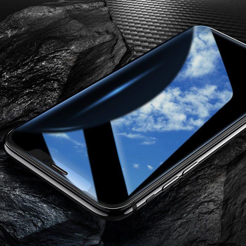 hoco mirror полноэкранное закаленное стекло для iphone x xr xs max a15 защитное