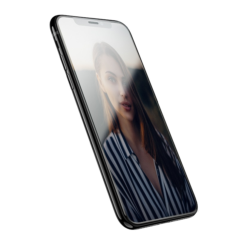 hoco mirror full screen tempered glass for iphone x xr xs max a15 screen
