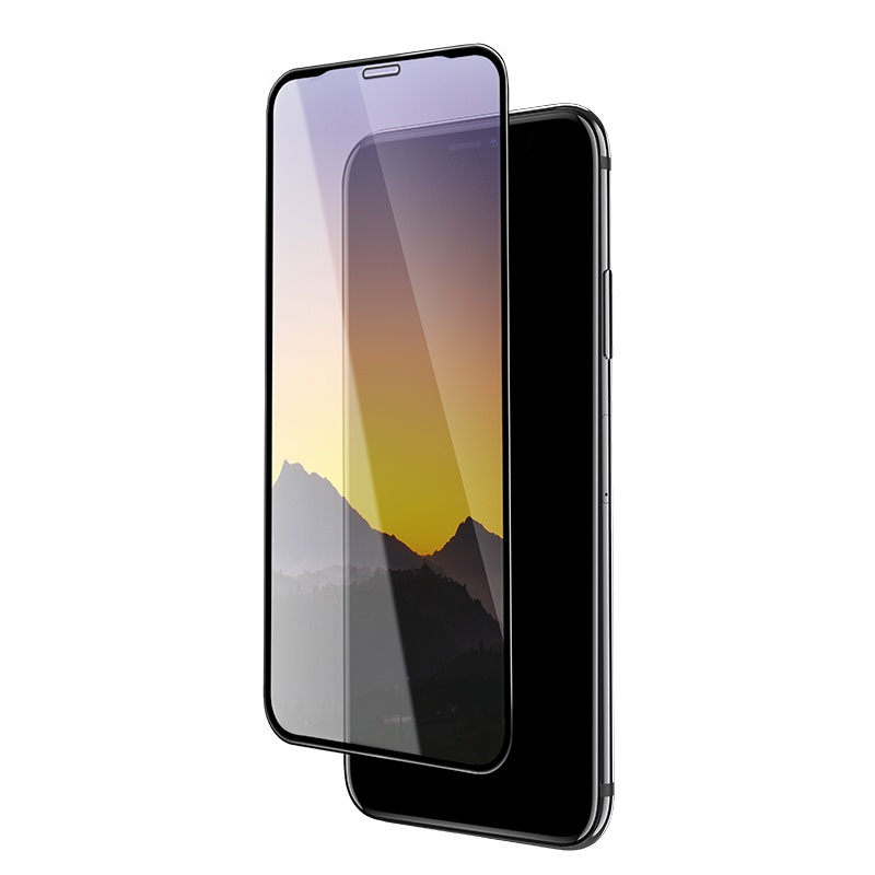 hoco mirror full screen tempered glass for iphone x xr xs max a15 thin